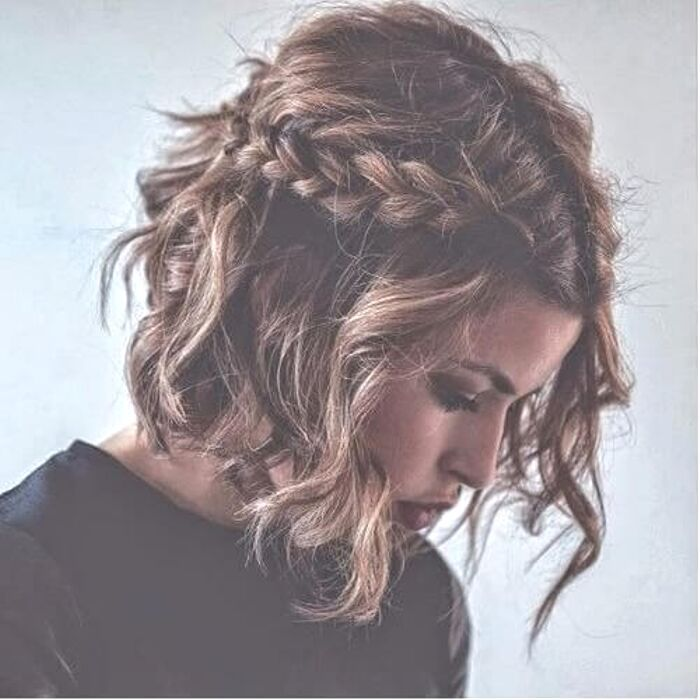 easy braids for medium length hair