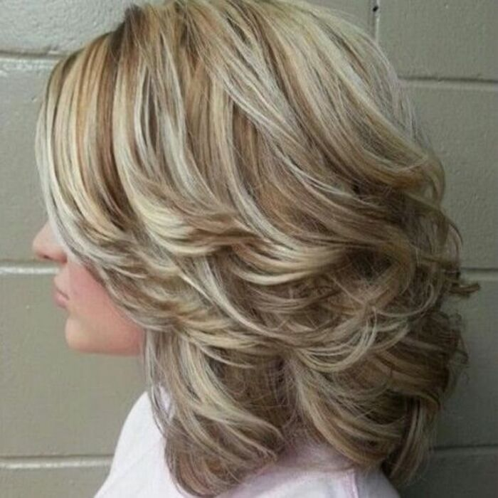 medium layered haircuts