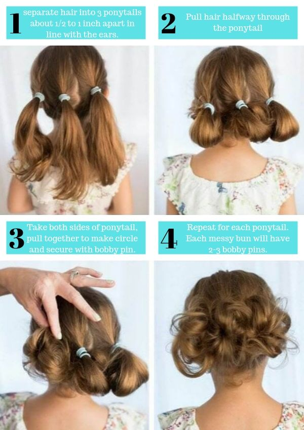 50 Easy And Cute Hairstyles For Little Girls Photos Video