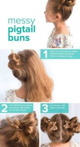 easy little girl hairstyles step by step