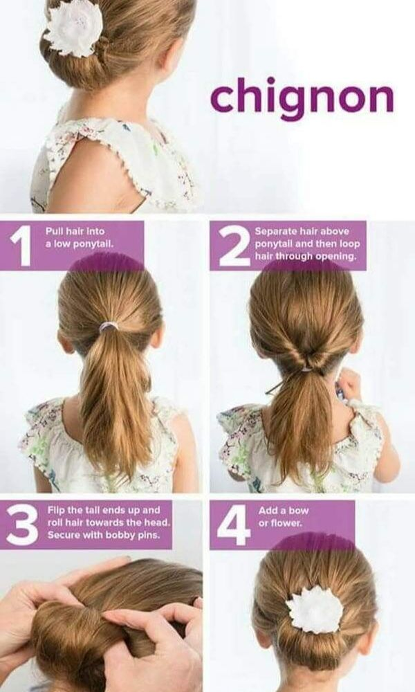 7 Easy And Cute Hairstyles For Little Girls Photos Video