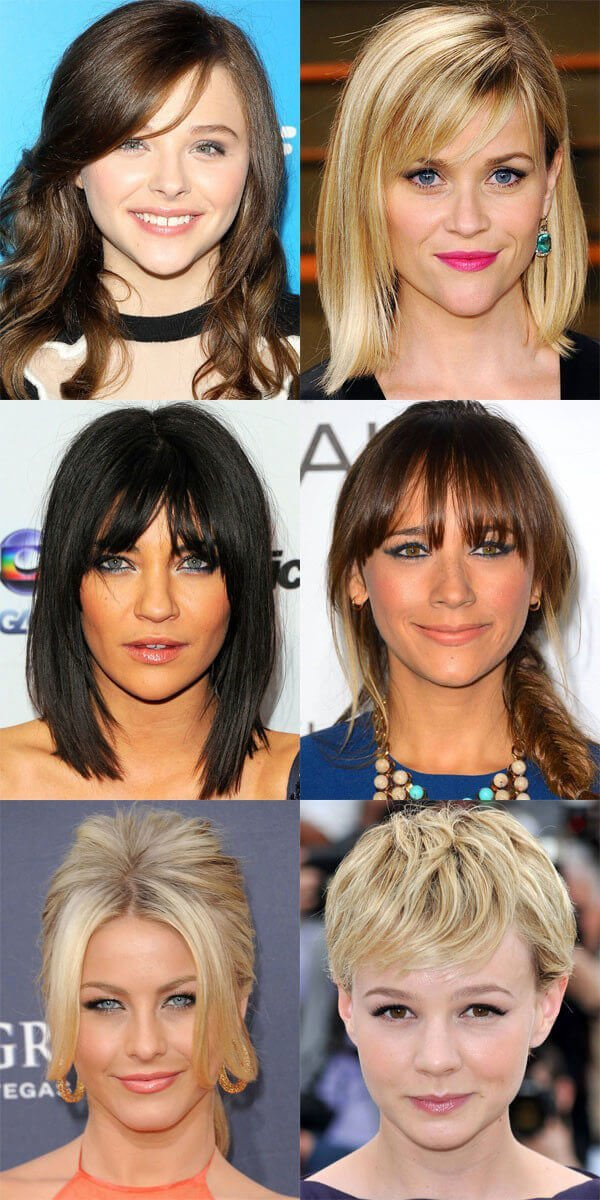 triangle face shape hairstyles