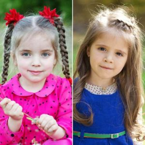 hairstyles for girl with braids