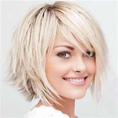 bob cut for women with colors