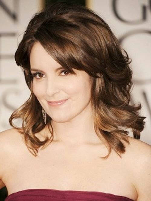 Medium length hairstyles for old women