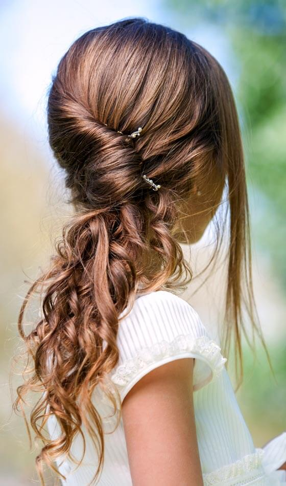 cute hairstyle for kids girls