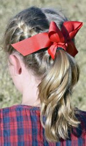 easy kids hairstyle