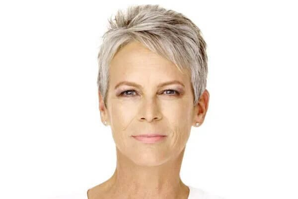Very short haircut for women over 50
