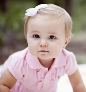 baby girl hairstyle