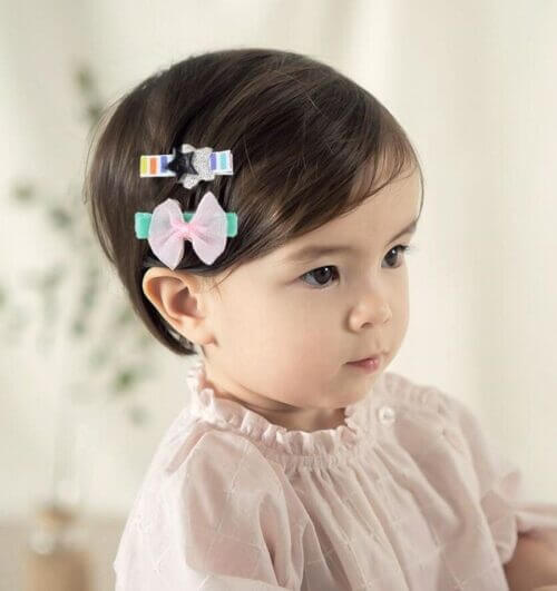 baby girl hairstyles for short hair