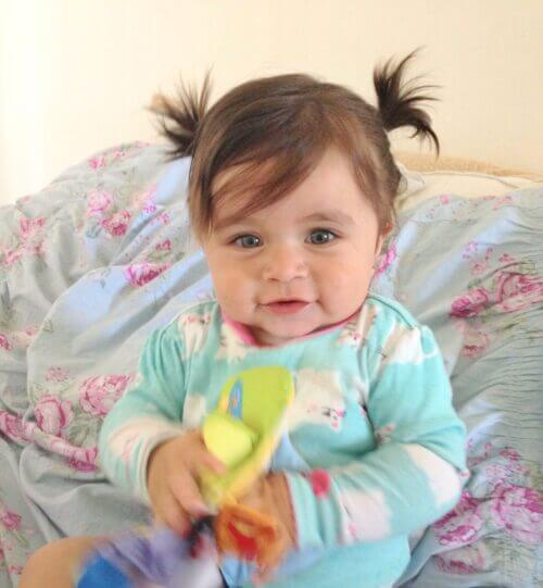 Hairstyle for babies