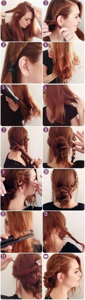 How to make cute easy hairstyles for school?