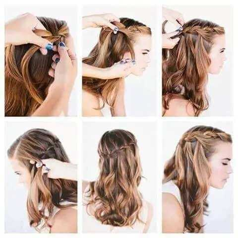 How to make cute hairstyles for school?