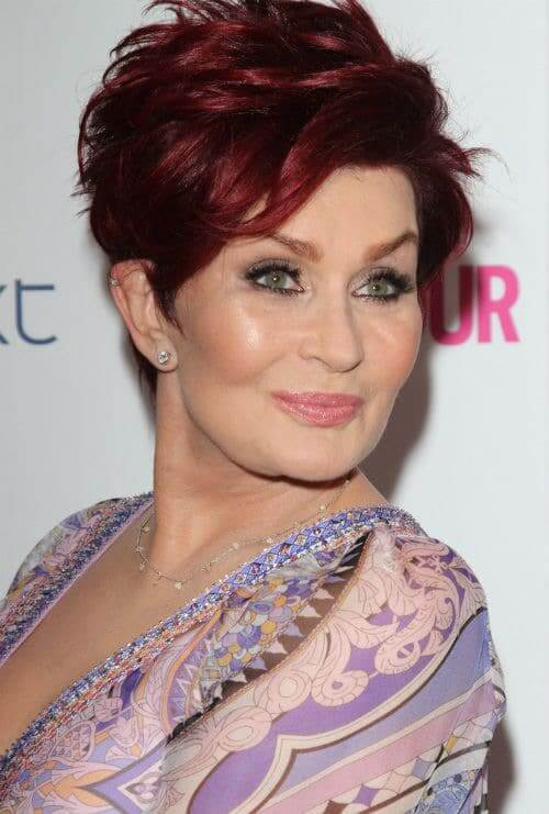 Sharon Osbourne hairstyle