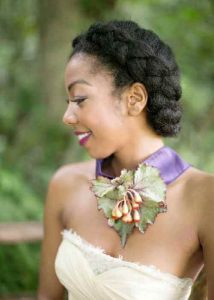 African American natural wedding hairstyles
