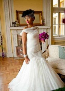 Wedding hairstyles for African American short hair