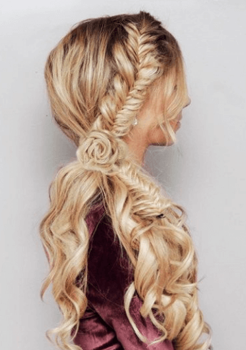 Step by step learn to braid your hair