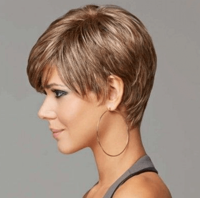 Short hairstyles for party