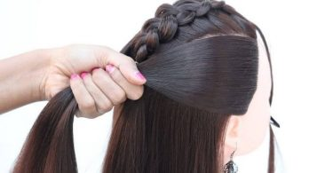 beautiful open hairstyles for the birthday girl