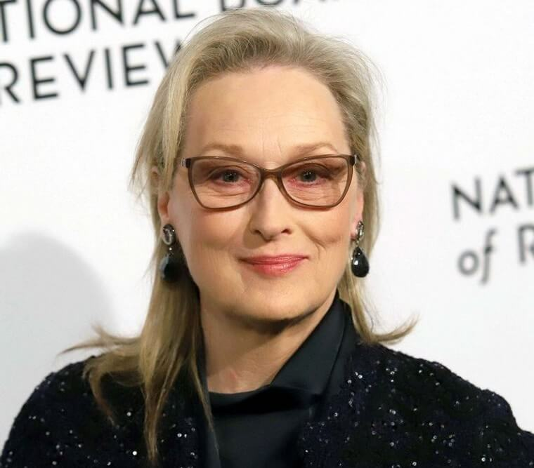hairstyle with matching glasses for over 50
